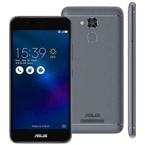 "Smartphone Asus Zenfone 3 Max ZC520TL - Cinza - 16GB - 4G - 13MP - Tela 5.2"" - Android 6.0 Marshmallow"