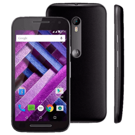 "Smartphone Moto G XT1544 - Preto - Dual-Chip - 16GB - TV Digital - 13MP - Tela 5"" - Android 5.1"