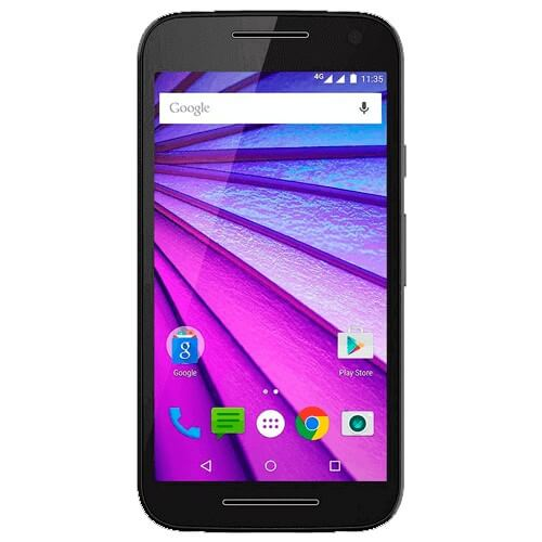 "Smartphone Moto G XT1544 - Preto - Dual-Chip - 16GB - TV Digital - 13MP - Tela 5"" - Android 5.1"