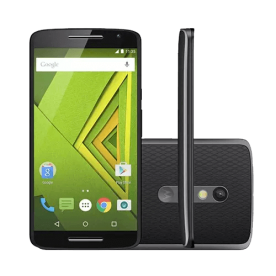 "Smartphone Moto X Play XT1563 - Preto - 32GB - Octa-Core - 4G - 21MP - Tela 5.5"" - Android 5.1"