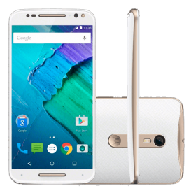 "Smartphone Moto X Style XT1572 - Branco - 32GB - Dual-Chip - 4G - 21MP - Tela 5.7"" - Android 5.1"