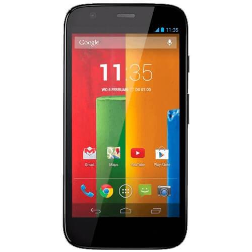 "Smartphone Motorola Moto G XT1033 Amarelo - Dual-Chip - 8GB - 3G - 5MP - Tela 4.5"" - Android 4.3"