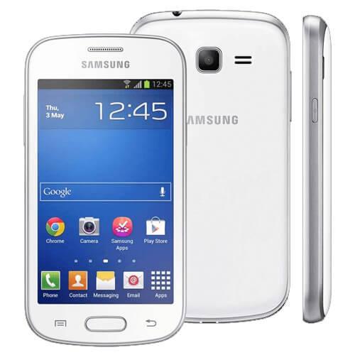 "Smartphone Samsung Galaxy Trend Lite S7390 - Branco - 4GB - 3G - 3MP - Wi-Fi - Tela 4"" - Android 4.1"