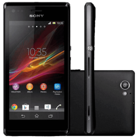 "Smartphone Sony Xperia SP C5303 - Preto - 8GB - 4G - 8MP - Tela 4.6"" - Android 4.1"