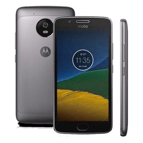 """Smartphone Motorola Moto G5 XT1672 - 5° Geração - Platinum - Dual-Chip - 32GB - Tela 5"""" - Android 7.0"""