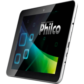 "Tablet Philco 10.1A-S111A4.0 Cinza - ARM Cortex A8 - Câmera de 2MP - RAM 1GB - Tela 10.1"" - Android 4.0"