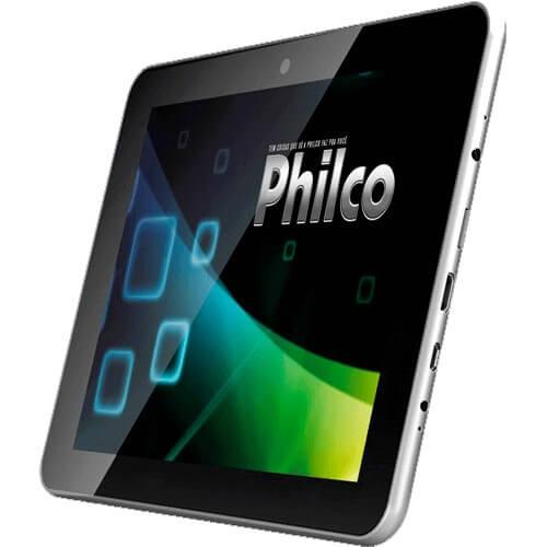 """Tablet Philco 10.1A-S111A4.0 Cinza - ARM Cortex A8 - Câmera de 2MP - RAM 1GB - Tela 10.1"""" - Android 4.0"""