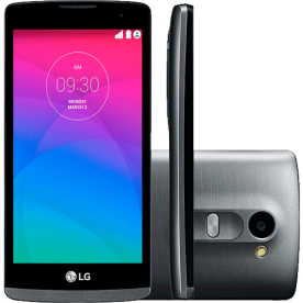 Smartphone LG Leon H342 - Titânio - 8GB - Dual-Chip - 5MP - Tela 4.5¨ - Android 5.0