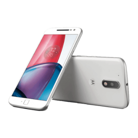 "Smartphone Motorola Moto G4 Plus XT1640 - Branco - 32GB - 4G - Dual-Chip - 16MP - Tela 5.5"" - Android 6.0"
