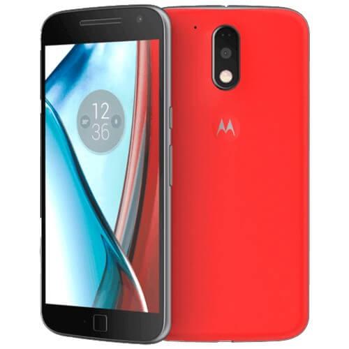 """Smartphone Motorola Moto G4 Plus XT1640 - Vermelho - 32GB - 4G - Dual-Chip - 16MP - Tela 5.5"""" - Android 6.0"""