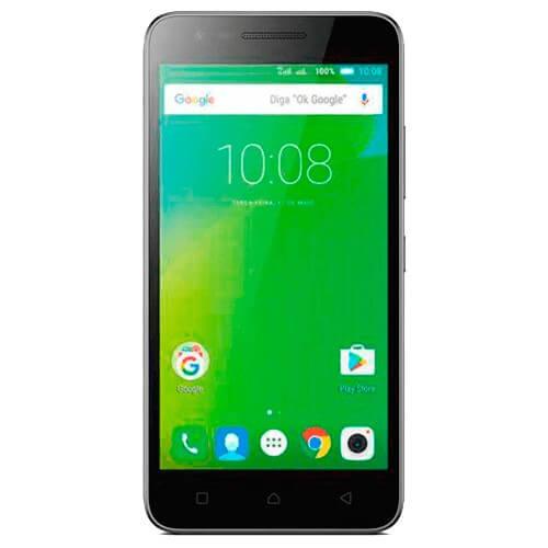 Smartphone Lenovo Vibe C2 K10A40 - 16GB - 4G - 1GB - Dual-Chip - 8 MP - Preto - Android 6.0