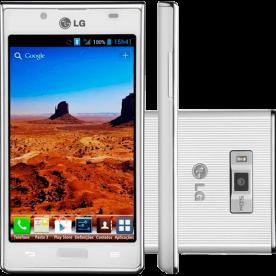 """Smartphone LG OPTIMUS L7 P705 Branco - 5MP - 4GB - Desbloqueado - Tela 4.3"""" - Android 4.0"""