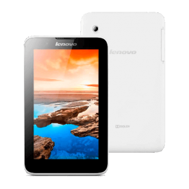 "Tablet Lenovo TAB A7 A3300-GV - Tela de 7"" - Quad Core - 8GB - Câmera de 2MP - Wi-Fi - Android 4.4"
