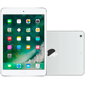 "iPad Mini Branco Apple - 32GB - 3G - Wi-Fi - Câmera 5MP - Tela 7.9""- iOS 6"