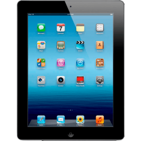"iPad 3 16GB Preto Apple - 3G - Wi-Fi - Tela 9.7"" - iOS 8.2"