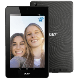 Tablet Acer Iconia One 7 B1-730-19E2 - Intel Atom - 8GB HD - 1GB RAM - Tela 7 LED - Preto