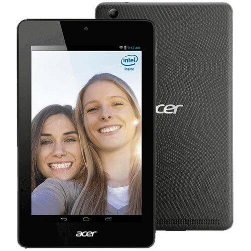 Tablet Acer Iconia One 7 B1-730-19E2 - Intel Atom - 8GB HD - 1GB RAM - Tela 7 LED - Preto