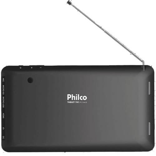 "Tablet Philco DTV - ARM Cortex A8 - RAM 1GB - 8GB - Câmera 2MP - TV Digital - Tela 7"" - Android 4.0"