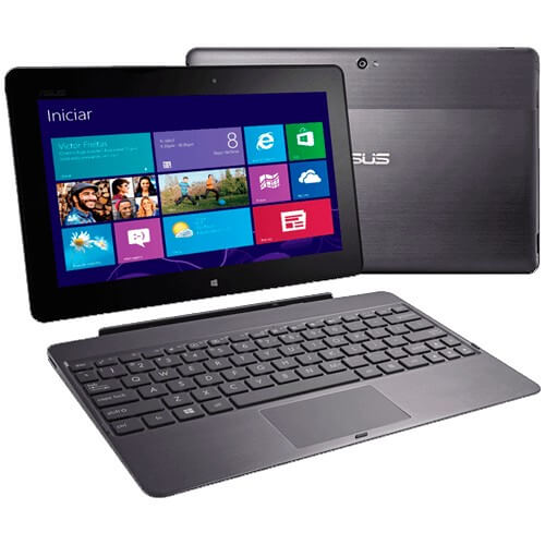 "Tablet Asus Transformer Pad TF600T-1B078R - 2GB - 32GB - Quad Core T30L - Wi-Fi - Tela 10.1"" - Windows 8 - Preto"