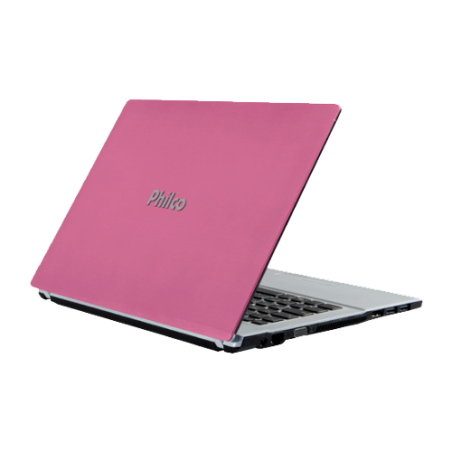 "Notebook Philco 14F-R723LM Rosa - AMD Dual Core C-50 - RAM 2GB - HD 320GB - LED 14"" - Linux"