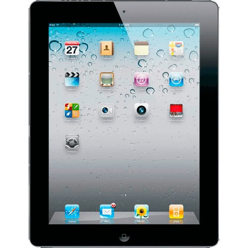 "iPad 2 64GB Preto Apple - 3G - Wi-Fi - Tela Widescreen de 9.7"" - iOS 4 - Bluetooth 2.1"