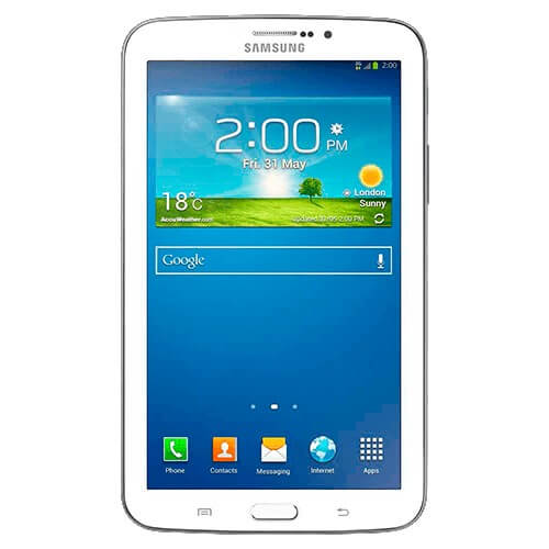 "Tablet Samsung Galaxy TAB 3 7.0 TV T211M - 8GB - Dual Core - 3MP - Tela 7"" - 3G - Android 4.1"