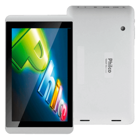 "Tablet Philco 8A-B111A4.0 - ARM Cortex A8 - 1 GB RAM - 8GB HD - Tela capacitiva 8"" - Branco"