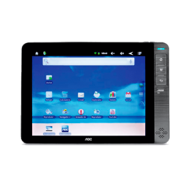 "Tablet AOC Breeze MW0812C - 4GB - Wi-Fi - Bluetooth - Tela 8"" - Android 2.3"