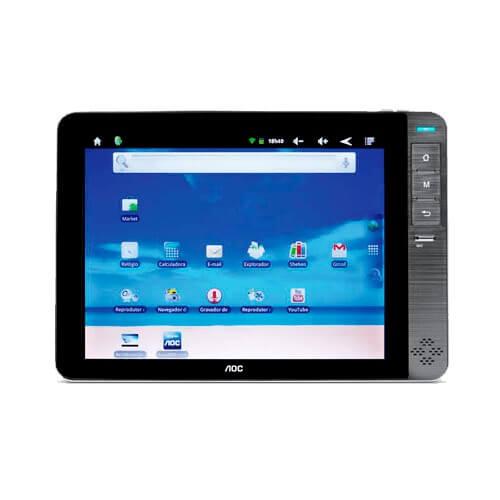 """Tablet AOC Breeze MW0812C - 4GB - Wi-Fi - Bluetooth - Tela 8"""" - Android 2.3"""