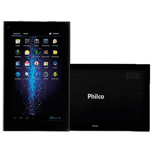 "Tablet Philco PH7G-P211A4.2 - 1GB - 8GB - A7 - 2 MP - Tela 7"" - Android 4.2"