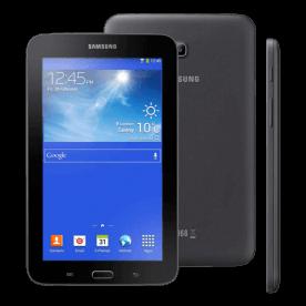 """Tablet Samsung Tab 3 Lite T111 - Preto - 8GB - Dual Core - 3G - Wi-Fi - Tela 7"""""""