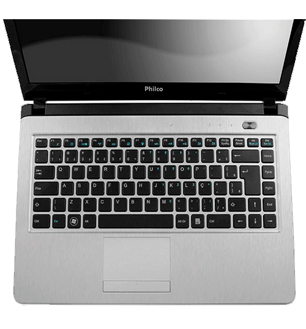 "Notebook Philco Slimbook 14I2-R723LM - HD 320GB - AMD BRAZOS C-Series - Tela 14"" - RAM 2GB - Linux - Rosa"