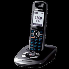 Telefone s/ fio Panasonic KX-TG7521LBB - DECT 6.0 - Teclado iluminado - Bloqueio de chamada - Viva voz - Black Piano