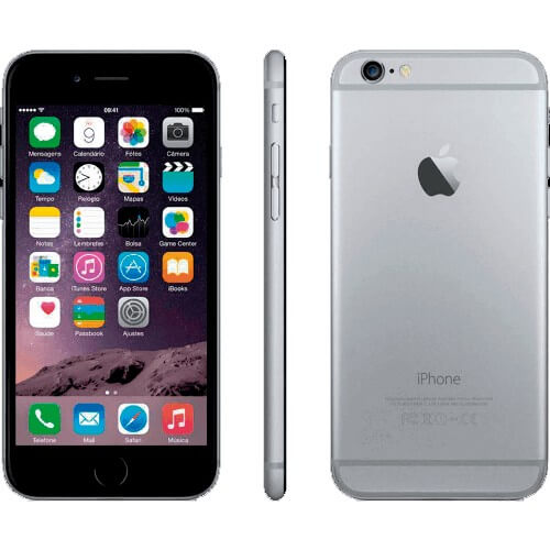 iPhone 6 Plus 128GB Cinza Espacial