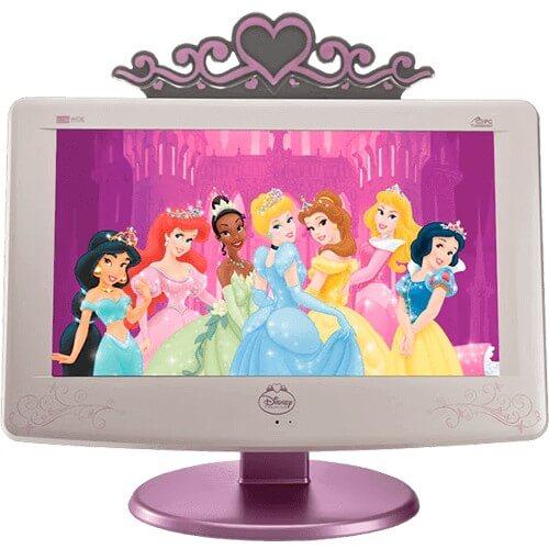 "TV CCE Disney LCP19M - Tela LCD 18.5"" - Plana - Contraste 1000:1 - Closed Caption"