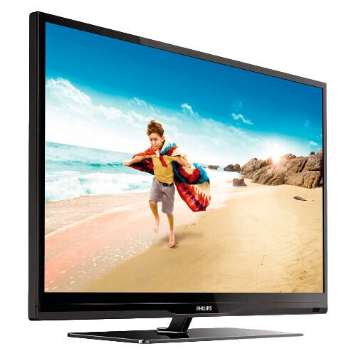 "TV LED 39"" Philips 39PFL4707G/78 Full HD - Conversor Digital - Entradas HDMI e USB - Widescreen"
