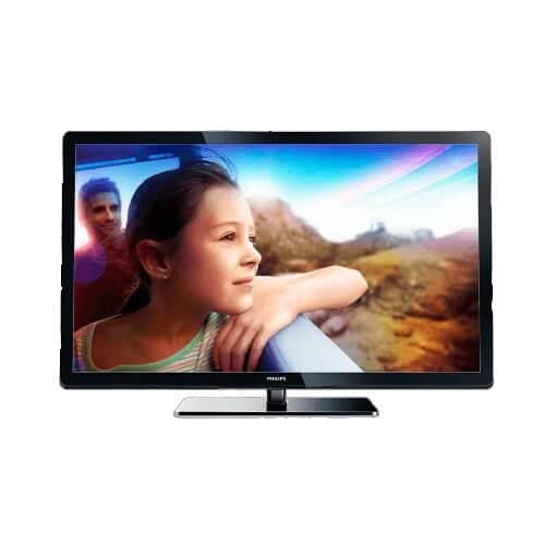 "TV 47"" LCD Full HD Philips 47PFL3007D/78 - Clear Sound - Conversor digital integrado"