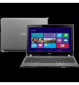 "Notebook Acer V5-171-6800 - Intel Core i3-2375M - RAM 2GB - HD 500GB - Tela 11.6"" - Windows 8"
