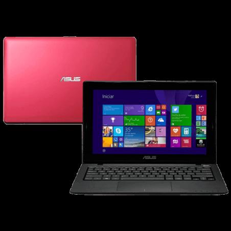 "Notebook Asus X200MA-CT206H - Rosa - Intel Celeron Dual Core N2830 - HD 500GB - RAM 2GB - LED 11.6"" Touchscreen - Windows 8.1"