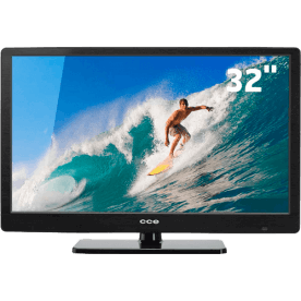 "TV LED 32"" CCE LT32G Preta - Entradas USB e HDMI - Conversor Digital - Sleep Timer"