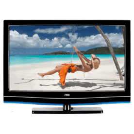 "TV 42"" LED AOC LE42H057D - Full HD - Antirreflexo - Entradas HDMI e USB - Conversor Digital - Widescreen"