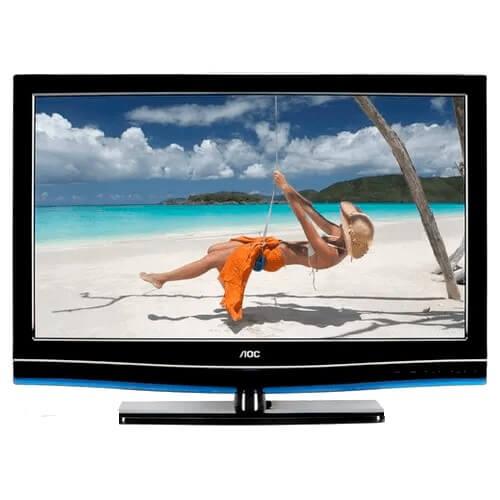 "TV 42"" LED AOC LE42H057D - Full HD - Antirreflexo - Entradas HDMI e USB - Conversor Digital - Widescreen"