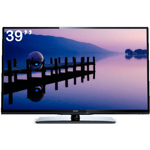 "TV LED 46"" Philips 46PFL3008D/78 - Full HD 1080p - HDMI - USB - Conversor Digital - Perfect Motion Rate"