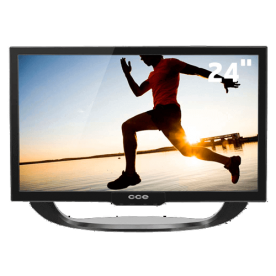 """TV LED CCE 24"""" LN24G Preta - Conversor Digital - Entradas HDMI e USB - HDTV - Antirreflexo"""