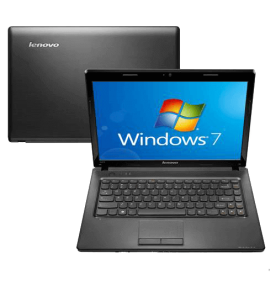 "Notebook Lenovo G475-59304074 - AMD C-50 - RAM 2GB - HD 320GB - Preto - Tela 14"" - Windows 7 Starter"