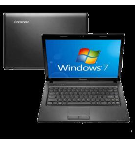 "Notebook Lenovo G475-59304074 - AMD C-50 - RAM 2GB - HD 320GB - Preto - Tela 14"" - Windows 7 Starter"