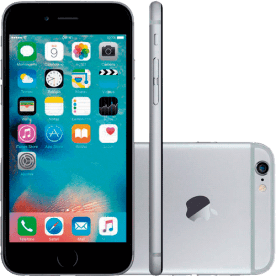 iPhone 6 16GB Apple Cinza Espacial