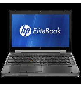 """Notebook HP Elitebook 8560W Workstation Intel core I7-2820QM RAM 8GB - HD 500GB NVIDIA Quadro 1000M Prata LCD 15.6"""" Windows 10"""