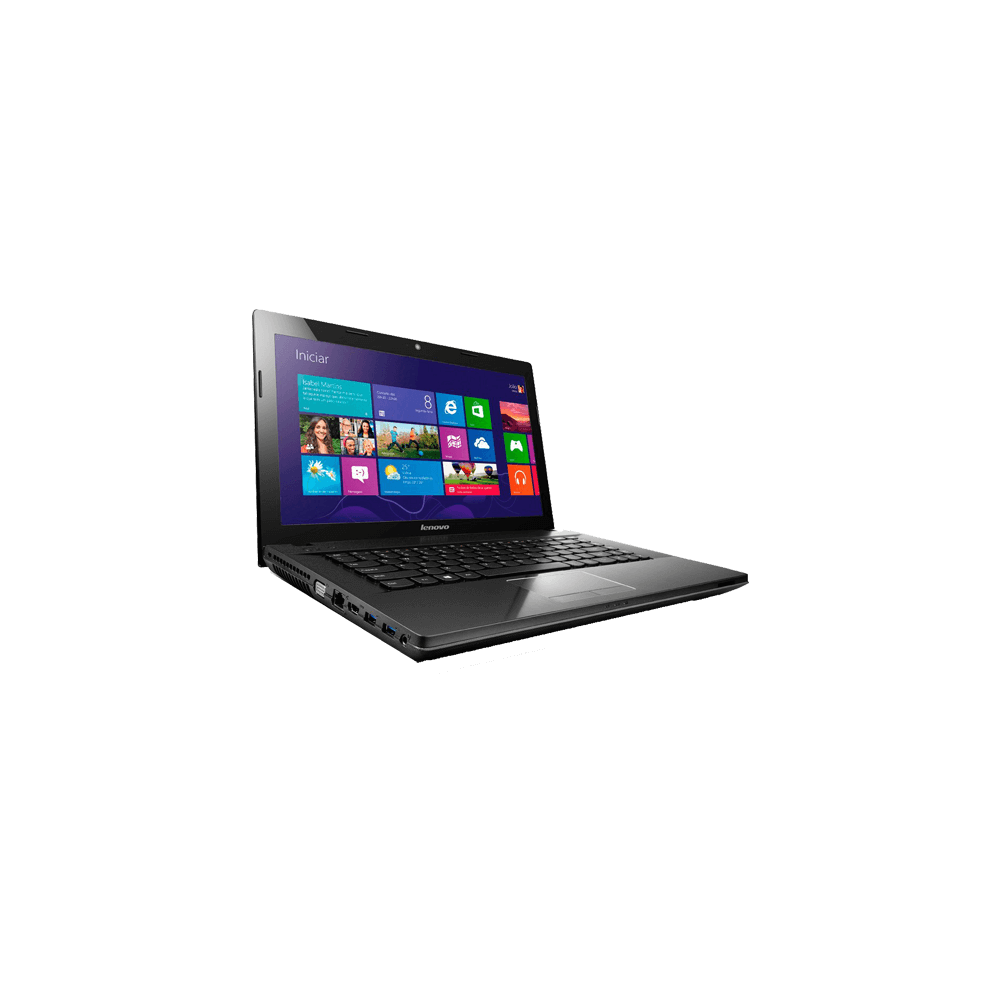 "Notebook Lenovo G405-90A90000BR - AMD E1-2100 - RAM 4GB - 500GB - AMD Radeon HD - Tela 14"" - Preto - Windows 8.1"