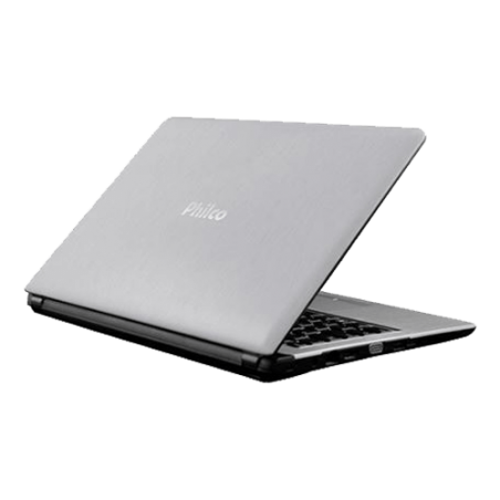 Notebook Philco 14G-S144LM-B - Intel Atom N2600 - RAM 4GB - HD 320GB - Prata - Linux Mandriva